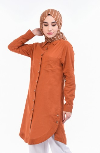 Tobacco Brown Tunic 5015-08