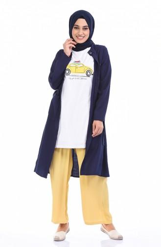 White T-Shirt 0013EF-01