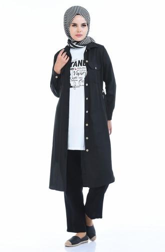Bedruckter Basic Tshirt 0013JK-01 Weiss 0013JK-01