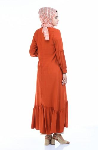 فستان قرميدي 0002-02