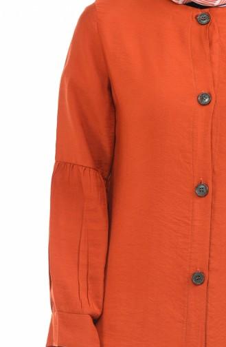 Ziegelrot Hijap Kleider 0002-02