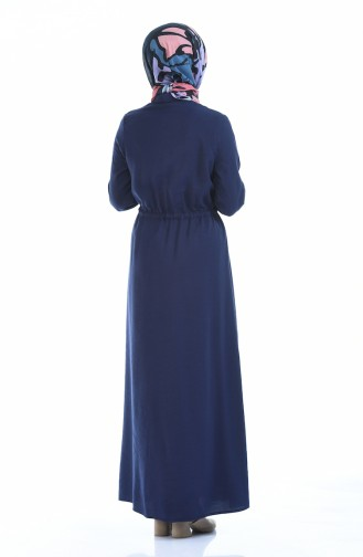 Navy Blue Dress 0003-04
