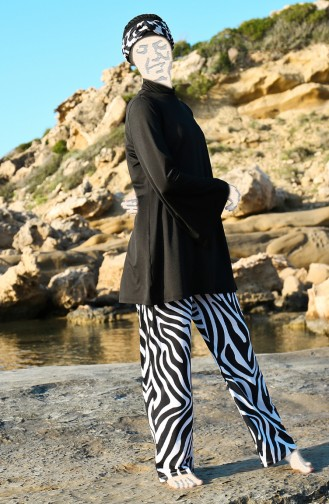 Black Swimsuit Hijab 1947-01