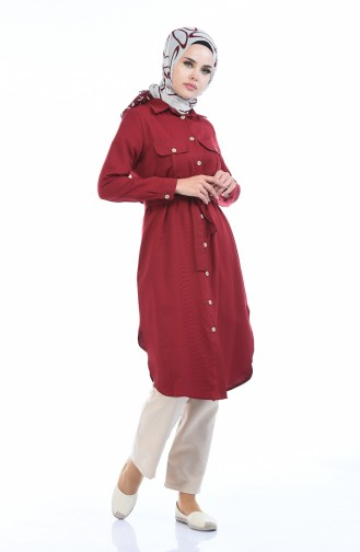 Cepli Ara Boy Tunik 5492-02 Bordo