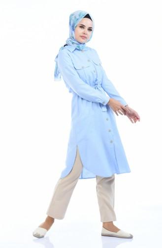 Cepli Ara Boy Tunik 5492-04 Mavi