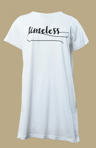 White T-Shirt 0013P-01