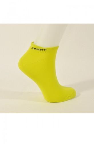 جوارب أصفر مُخضر 1000-10
