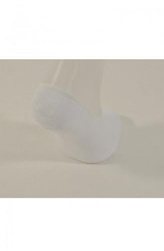 Suba Bambu Damen Socken 8009-03 Weiss 8009-03