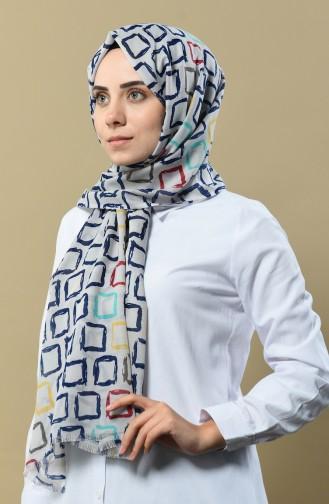شال رمادي فاتح 170-04