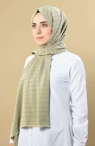 شال أخضر كاكي باهت 60090-03
