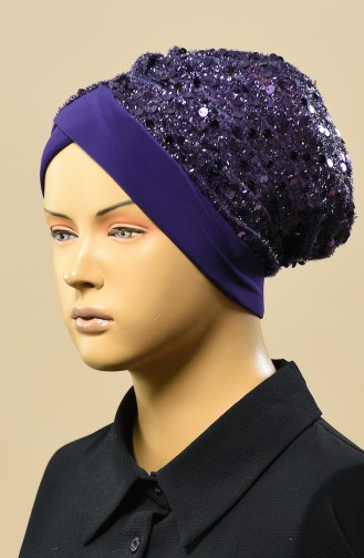 القبعات أرجواني 9013-09