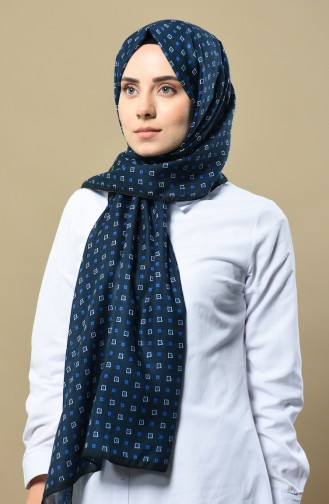 Navy Blue Sjaal 4515-03