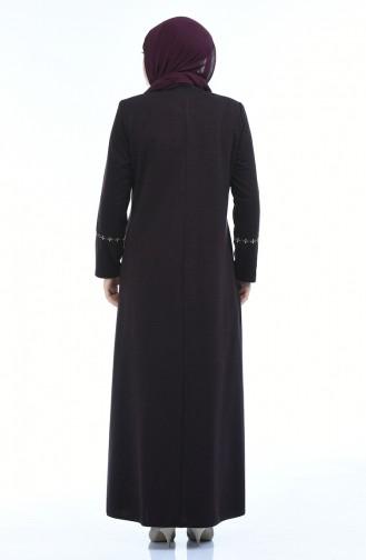 Damson Abaya 8202-03