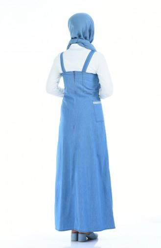 Gilet أزرق 2096-02