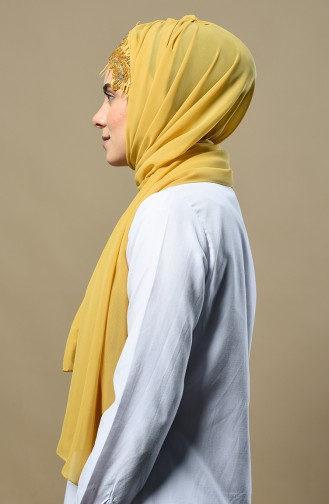 Mustard Shawl 9014-14