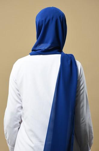 Châle Mousseline 9015-01 Bleu Roi 9015-01