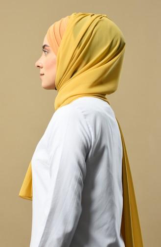 شال أصفر خردل 9015-08