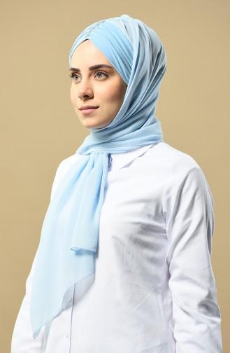 شال أزرق فاتح 9015-13