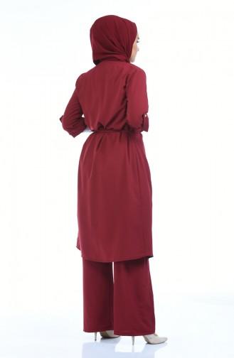 طقم أحمر كلاريت 1199-14