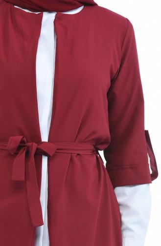 Claret red Suit 1199-14