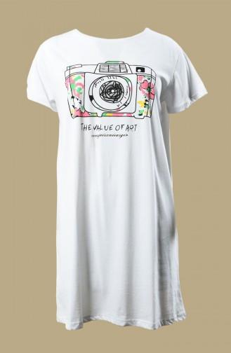 White T-Shirt 0013S-01
