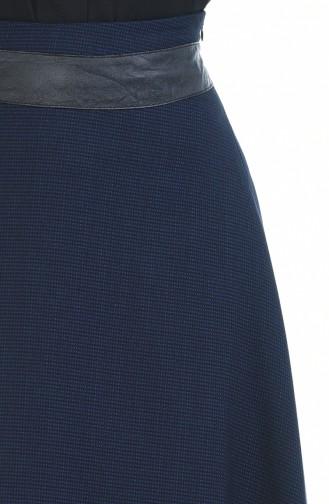 Navy Blue Skirt 4110-02
