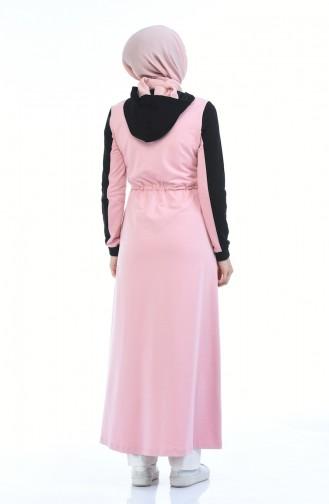 Pink Abaya 4070-04