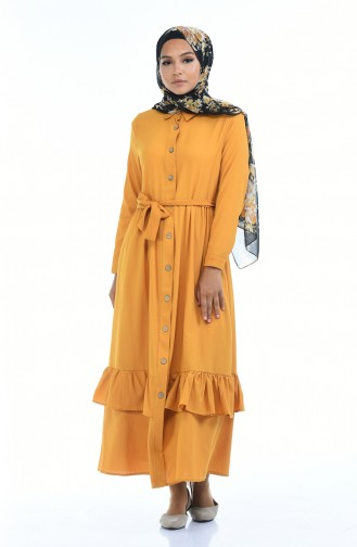 Senf Hijap Kleider 5790-04