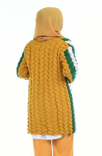 Mustard Vest 1480-01