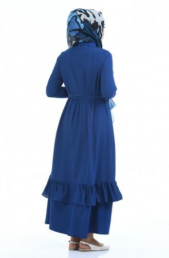 فستان نيلي 5790-05