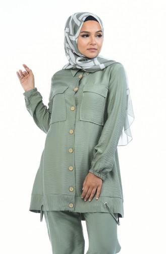 Grün Anzüge 5803-01