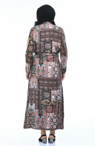 Dusty Rose Dress 7648-02