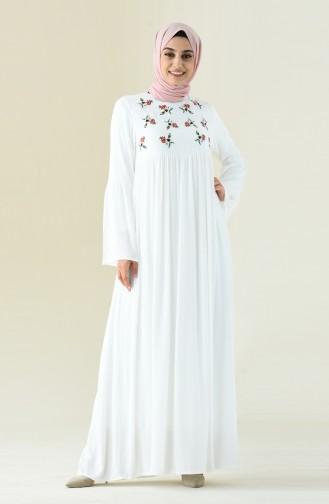 Ecru Dress 0073-01