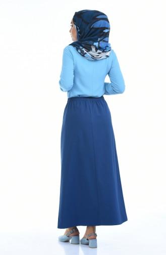 Indigo Skirt 1031B-02