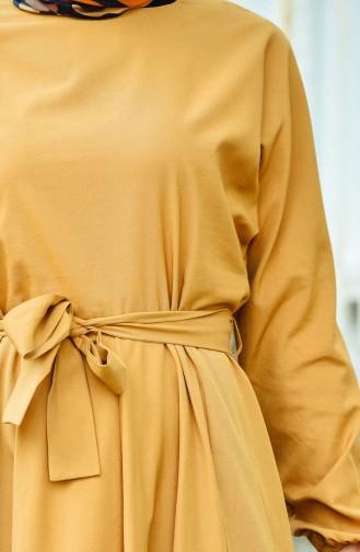 Mustard Dress 12011-08