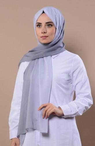 شال رمادي فاتح 13086-22
