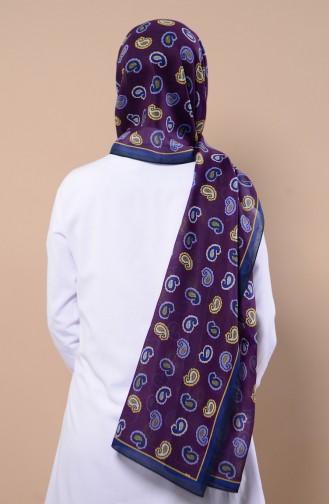 Purple Sjaal 4517-13