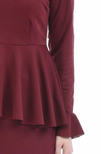 Claret red Suit 2075-13