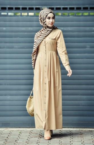 فستان بيج داكن 12012-02