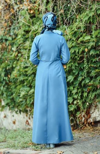 فستان نيلي 12012-05