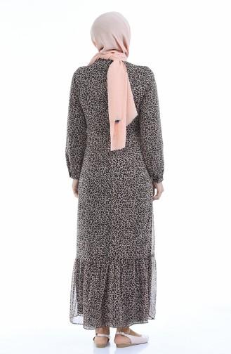 فستان باودر 3502-01