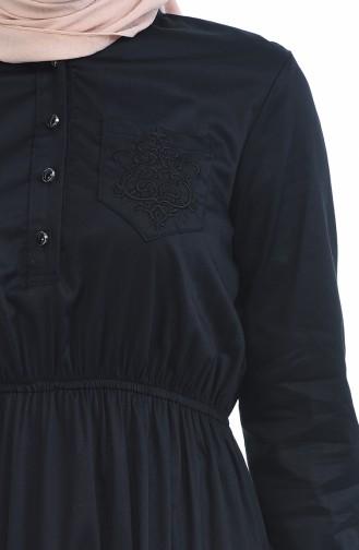 فستان أسود 4016-03