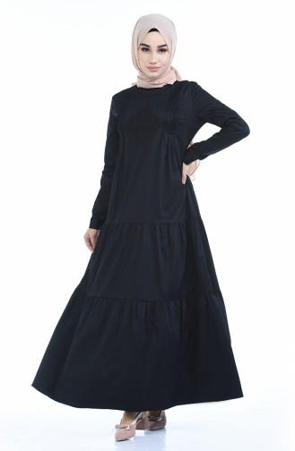 فستان أسود 4055-01