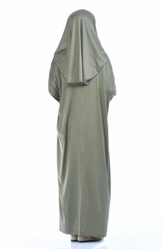 ملابس الصلاة كاكي 1001B-02