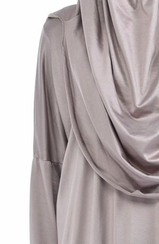 ملابس الصلاة بني مائل للرمادي 1001B-04