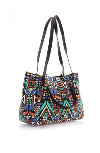 Black Shoulder Bag 167Z-01