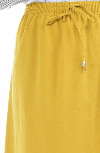 Mustard Skirt 1129-01