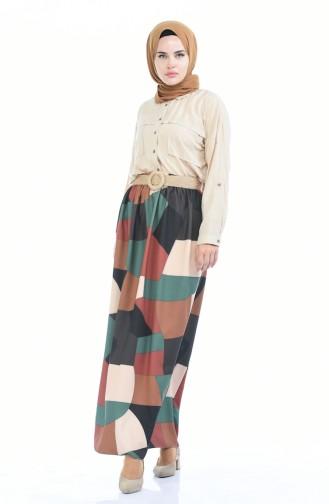 Tobacco Brown Skirt 53769-01