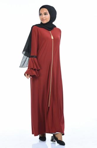Ziegelrot Abayas 5905-05