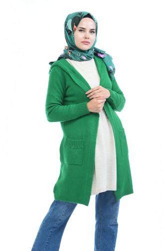 كارديجان أخضر حشيشي 4119-02